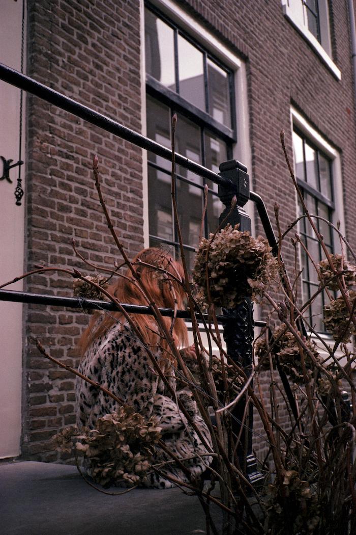 analog fotoğraf merdiven önü cem çelik